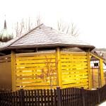 Naturschiefer Pavillon Spielplatz