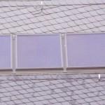 Naturschieferdeckung mit Solarinndachkollektroren